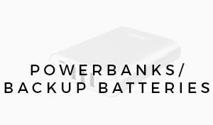 Power Banks / Backup Batteries