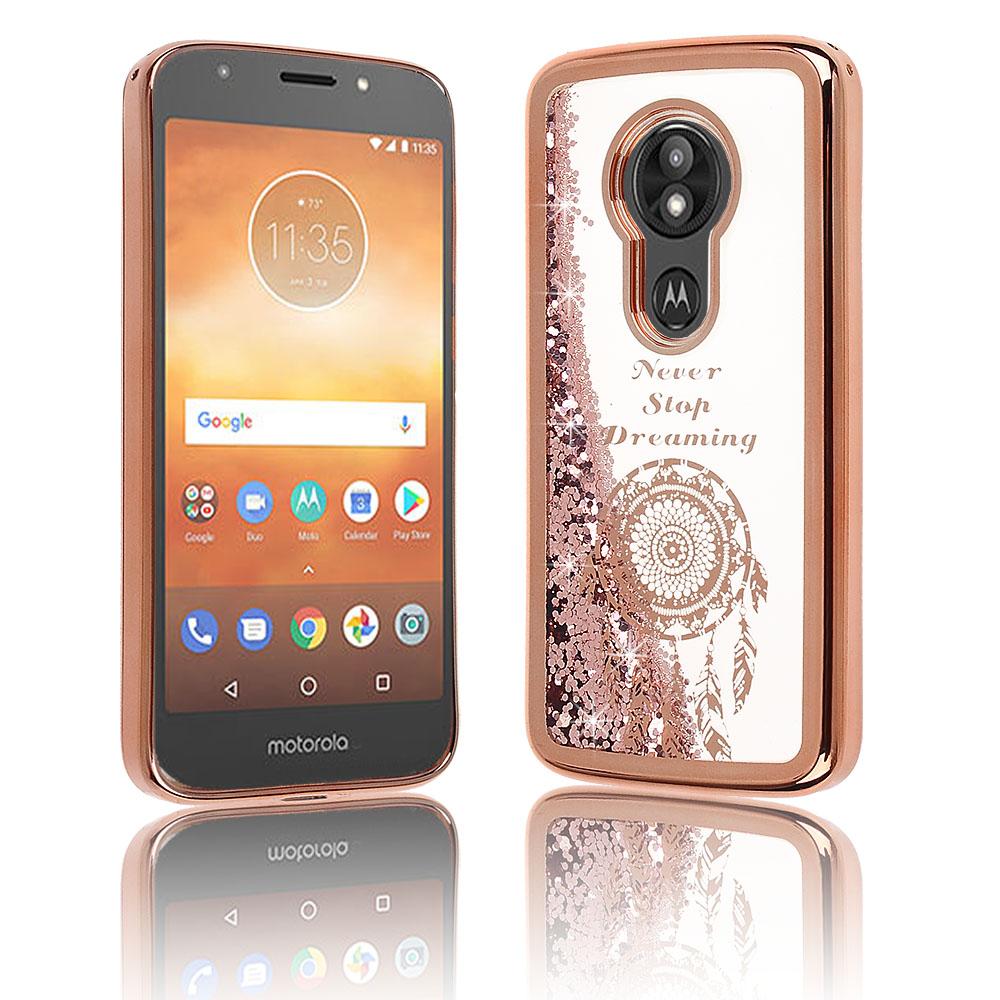 1d5debd3f100 Motorola Moto E5 Cruise   E5 Play - Rose Gold Liquid Glitter filled ...