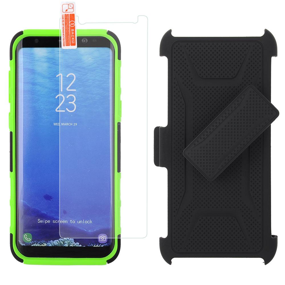 LG LV5/ LG K20 Plus/ LG Harmony - Holster Kickstand Combo - Black