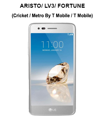 Aristo/ LV3/ Fortune (Cricket/ MetroPCS/ T-Mobile)
