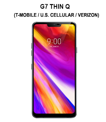 G7 Thin Q (Sprint / T-Mobile / U.S. Cellular / Verizon)